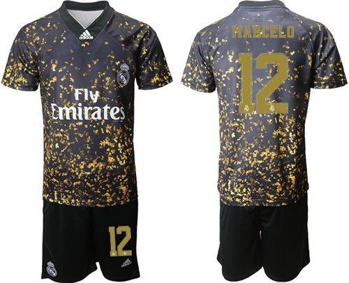 Real Madrid #12 Marcelo Camo Soccer Club Jersey