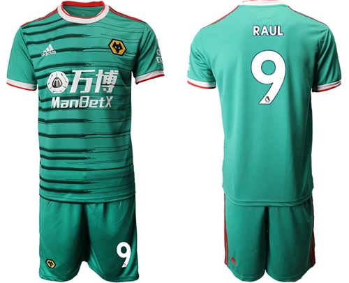Wolves #9 Raul Third Soccer Club Jersey
