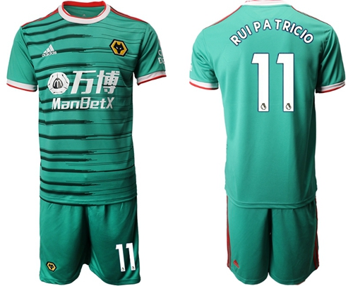Wolves #11 Rui Pa Tricio Third Soccer Club Jersey