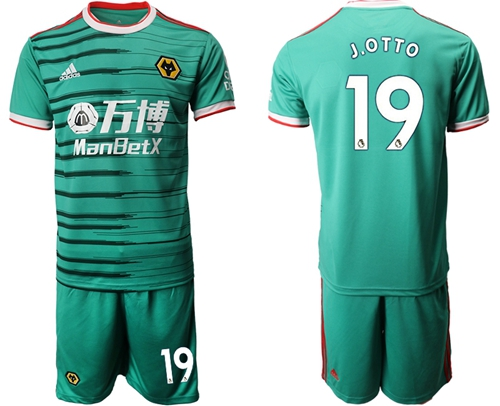 Wolves #19 J.OTTO Third Soccer Club Jersey