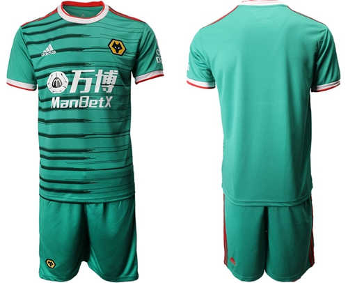Wolves Blank Third Soccer Club Jersey