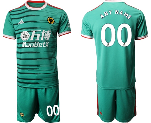 Wolves Personalized Third Soccer Club Jersey